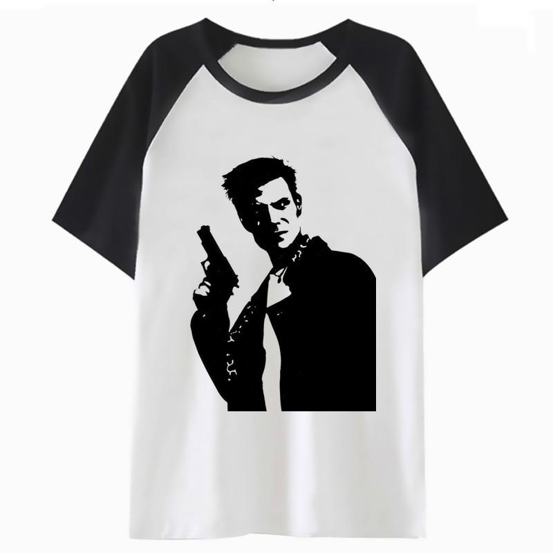 Max Payne T Shirt Hop Top For Hip Tshirt T-shirt Streetwear Men Harajuku Funny Male Clothing Tee I3734