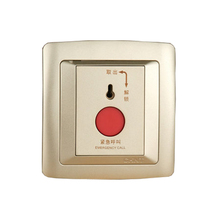 CHINT NEW2K Call Button Champagne Gold Wall Switch Light Smart House Systems