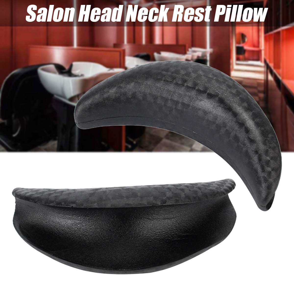 18*9cm Hair Wash Gel Neck Rest Pillow Cushion Salon Beauty Washing Sink Rubber Shampoo Bowl Hairdressing Accessories Neck Pad