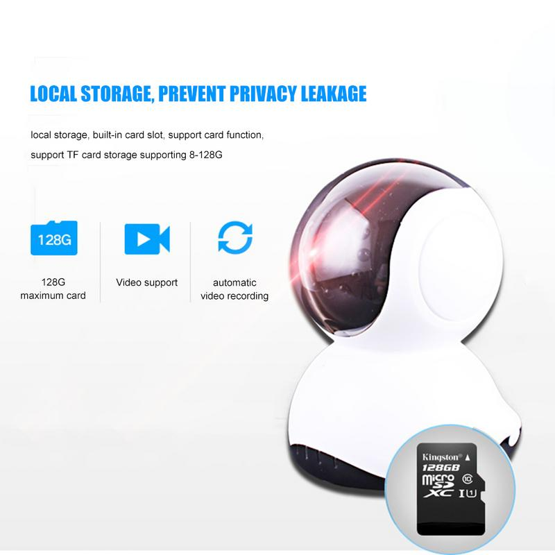 Wifi-Camera Infrared Baby-Monitor Night-Vision Mini HD Home-Security Million Webcam Intelligent