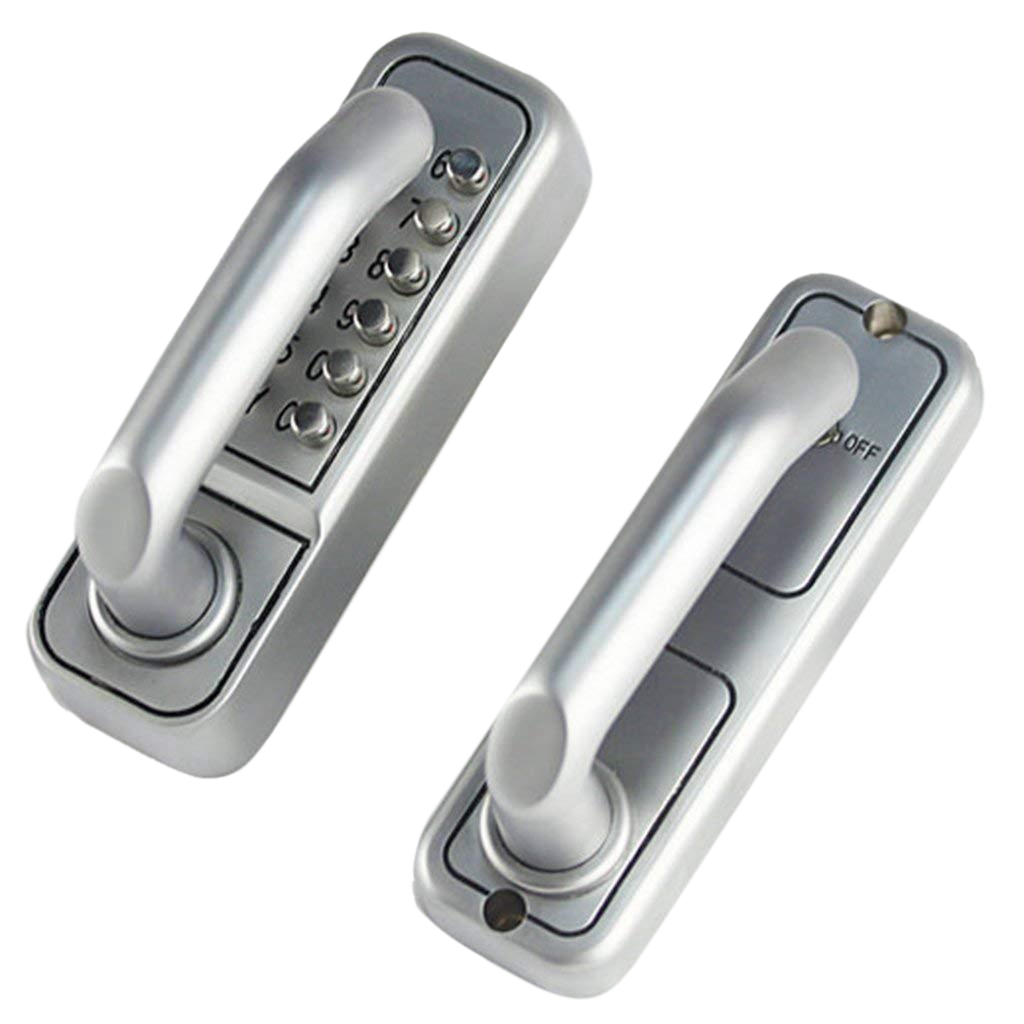 Digital Keyless Mechanical Code Lock Door Lock Security Lock Combination Lock For Home - Office /, W