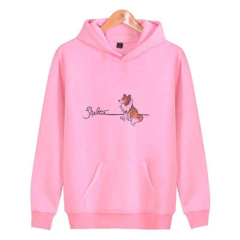 Sheltie 2019 Hoodies Men Hip Hop Mens Brand Color Turtleneck Pullover Hoodie Sweatshirt Men Hoody V2257