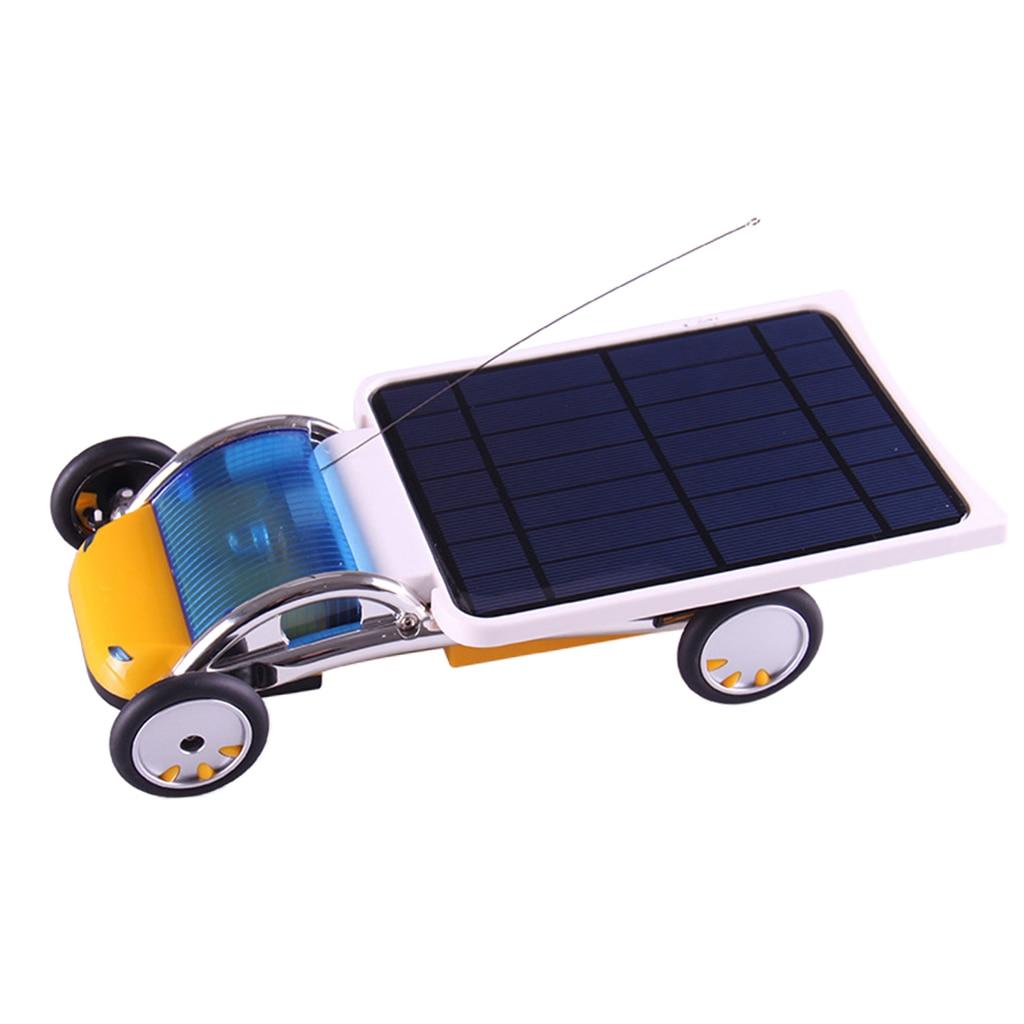 Kit d'expérimentation de voiture actionné solaire à télécommande de bricolage pour le matériel d'enseignement physique d'école à la maison