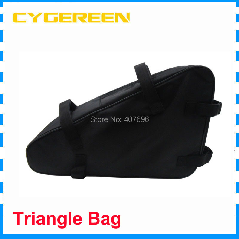 High Quality Triangle Battery Bag For 48V 36V 52V 60V Electric Scooter Electric Bike Battery Free Shipping