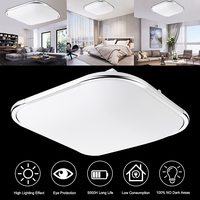18W 48LED Ceiling Light Acrylic Material 5730 Lamp Beads 1600LM Modern Kitchen Bathroom Household Lamps AC110 220V