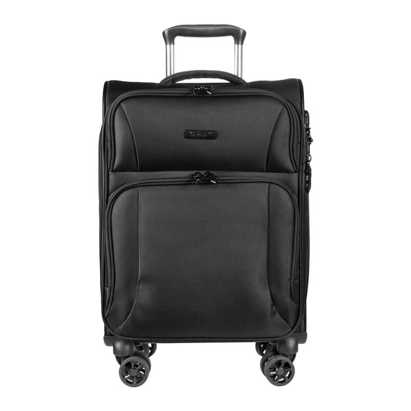 Suitcase-trolley Verage GM16082W19 black portable plastic folding trolley black