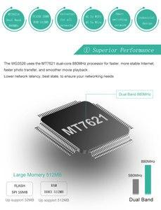 Image 3 - Router wifi lte 4g 3g với sim khe cắm thẻ ăng ten bên ngoài 11AC 1000 Mbps 5G băng tần kép repeater lưới bao gồm 130 mét vuông