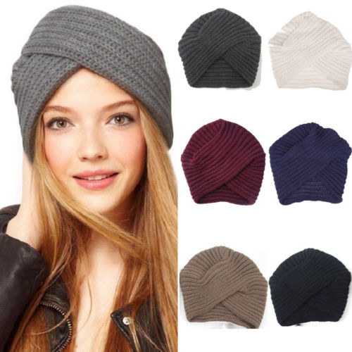Fashion Men/'s Knit Beanie Solid Winter Warm Ski Crochet Hat Cap