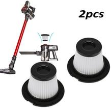 Модные фильтр для Dibea C17 пылесос аксессуары Запчасти для авто белый + черный фильтры