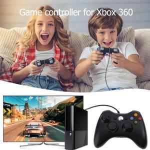 Image 3 - Двойной вибрации геймпад Controlle джойстик для Microsoft Xbox 360 Xbox 360 тонкий для ПК Джойстик для Windows джойстик