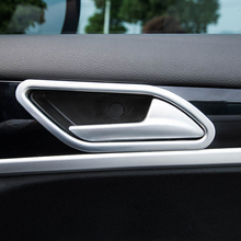 4pcs for dongfeng AX7 2015-2017 Inner door Handle Decoration frame ABS 3pcs for dongfeng ax7 2015 2017 2018 air conditioner vent decoration frame