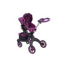 Коляска для кукол Buggy Boom Aurora, фиолетовая
