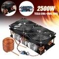 2500 W/1800 W ZVS calentador de inducción calentamiento por inducción placa PCB módulo Flyback controlador calentador refrigeración ventilador interfaz + V 48 V bobina Mayitr