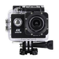 4K HD WiFi камера 30 м водонепроницаемый корпус два аккумулятора крепление для велосипеда комплект 4K видео и 12MP фото широкоугольный объектив