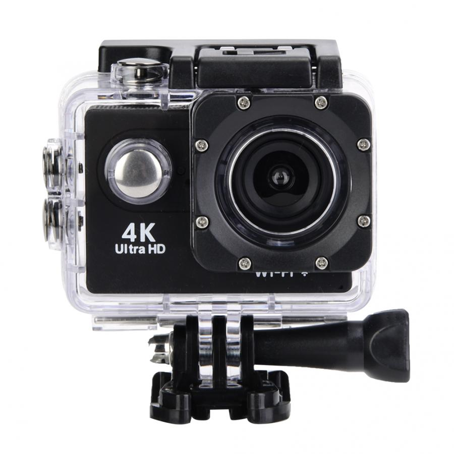 High Quality 4K HD WiFi Camera 30M Waterproof Housing Two Battery Bike Mount Kit 4K video Innrech Market.com