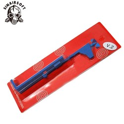 Plaque de Tappet bleue renforcée SHS pour AEG Airsoft Ver.2 boîtes de vitesses pour accessoires de tir de Paintball de chasse