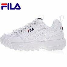 584999d822 2018 FILAS Disruptor II 2 Homens E Mulheres Sapatilha Running Shoes Branco  Verão Aumentou Tênis Ao