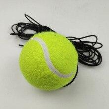 1 шт. линия обучения теннису Профессиональный резиновый теннисный мяч Высокая устойчивость прочный тренировочный мяч школьный клуб соревнования обучение