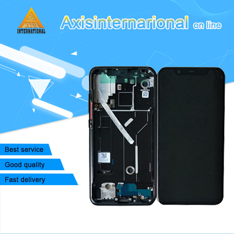"""Original Axisinternational For 6.21"""" Xiaomi Mi8 Mi 8 MI8 supor Amoled LCD screen display+Touch panel Digitizer with frame+tools-in Mobile Phone LCD Screens from Cellphones & Telecommunications"""