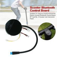 Scooter elétrico Placa de Controle Bluetooth BT Cartão No. 9 Linha Painel de Instrumentos Adequados Para Segway Scooter ES1 ES2 ES3 ES4