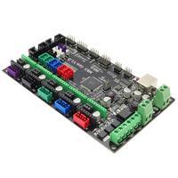 Nova impressora 3d mks gen v1.4 placa de controle 2560 r3 placa compatível com usb 3d impressora peças para rampas 1.4 conjunto|Peças e acessórios em 3D| |  -