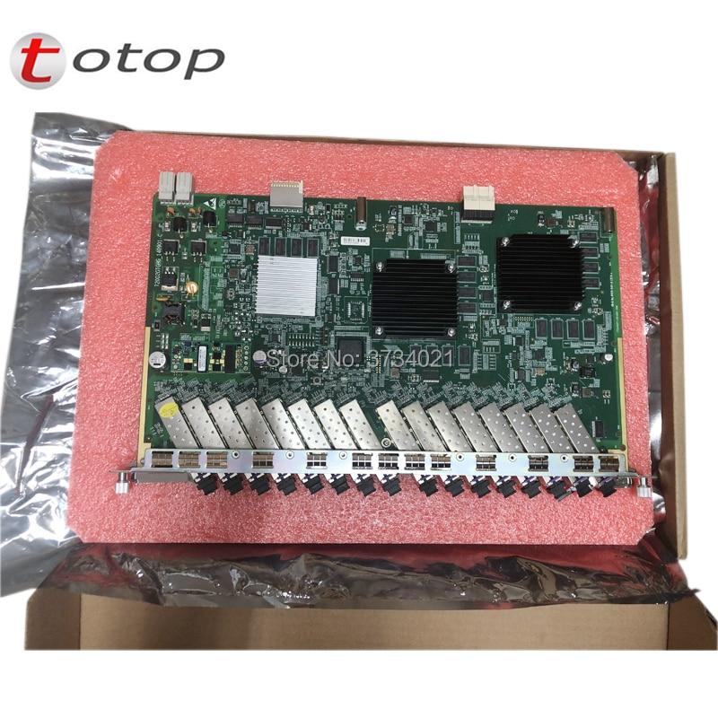 Zte GTGH 16 портов GPON плата, GTGHG GTGHK версия GTGH с 16 C + SFP для zte OLT C320 C300