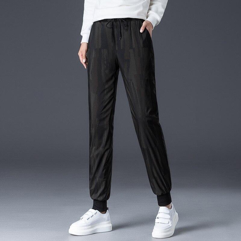 Shuchan Pantaloni Della Tuta Mimetica 90% Imbottiture Pantaloni Per Le Donne Impermeabile Antivento Caldo di Spessore Più Il Formato A Vita Alta Inverno della Mutanda 9041