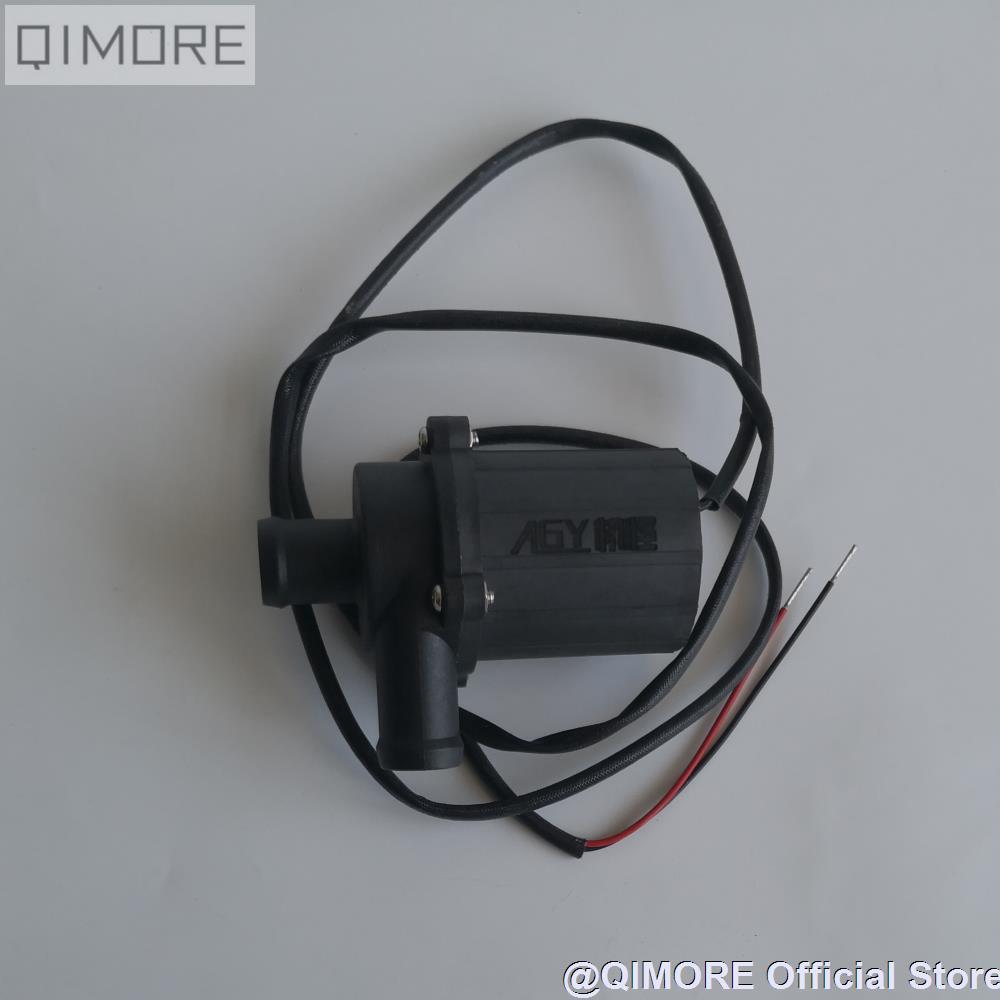 Pompe à eau électrique sans brosse 12 V pour Scooter JOG50 90 JOG100 MIO100 RS100 GR125 BWS125 GY6 converti en moteur de refroidissement par eau