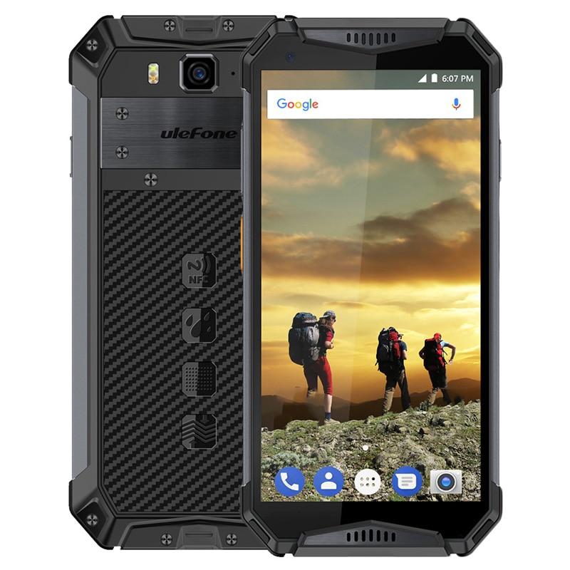 Ulefone Armor 3 4G Smartphone 5.7 pouces Android 8.1 Octa Core 2.5GHz 4GB RAM 64GB ROM 21MP caméra arrière 10300mAh téléphone portable Mobile