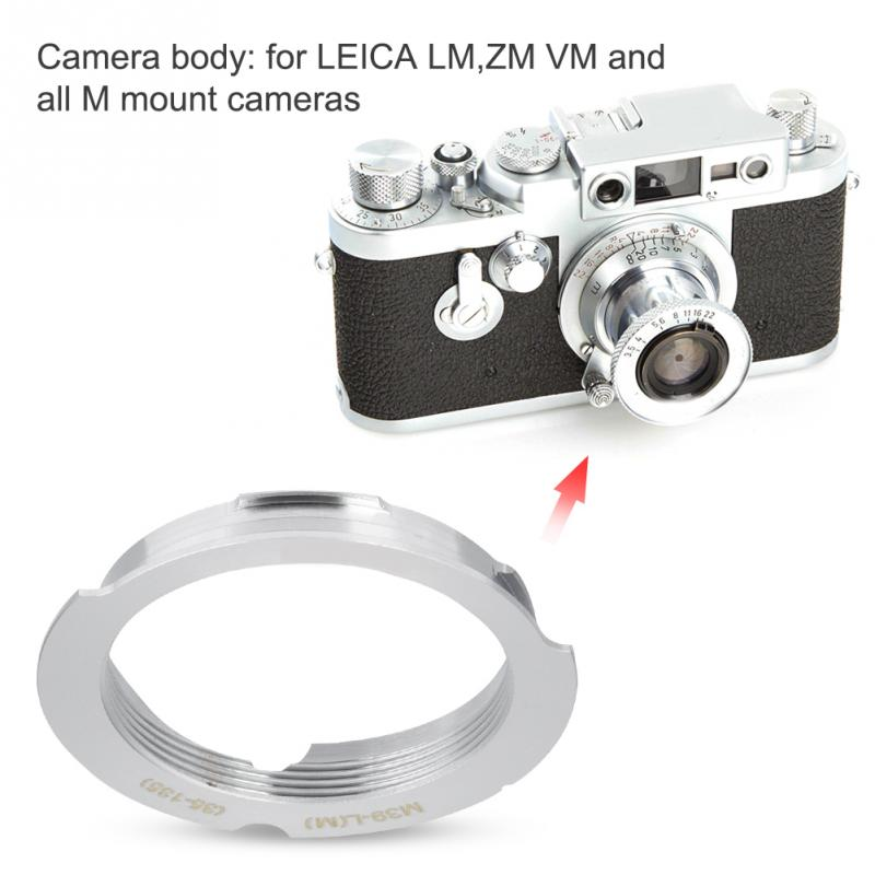 Adapter For Leica LTM To M Mount 35-135mm Brand New!