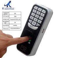 500finger and 1000 Card Biometric fingerprint usb reader Door Access Fingerprint sensor Card Reader for access control system