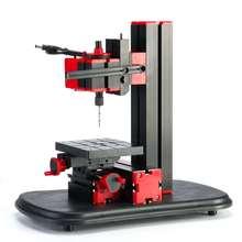 Мини-индексационный сверлильный станок металлический токарный станок для дома DIY электроинструменты для обработки металла токарный станок для моделирования дерева 20000 ОБ/мин 12В сверление