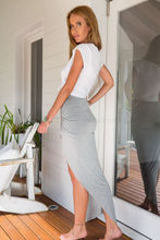 Summer Skirts HOT Women Casual Solid Elastic High Waist Asymmetric Ruched Skinny Pencil Skirt