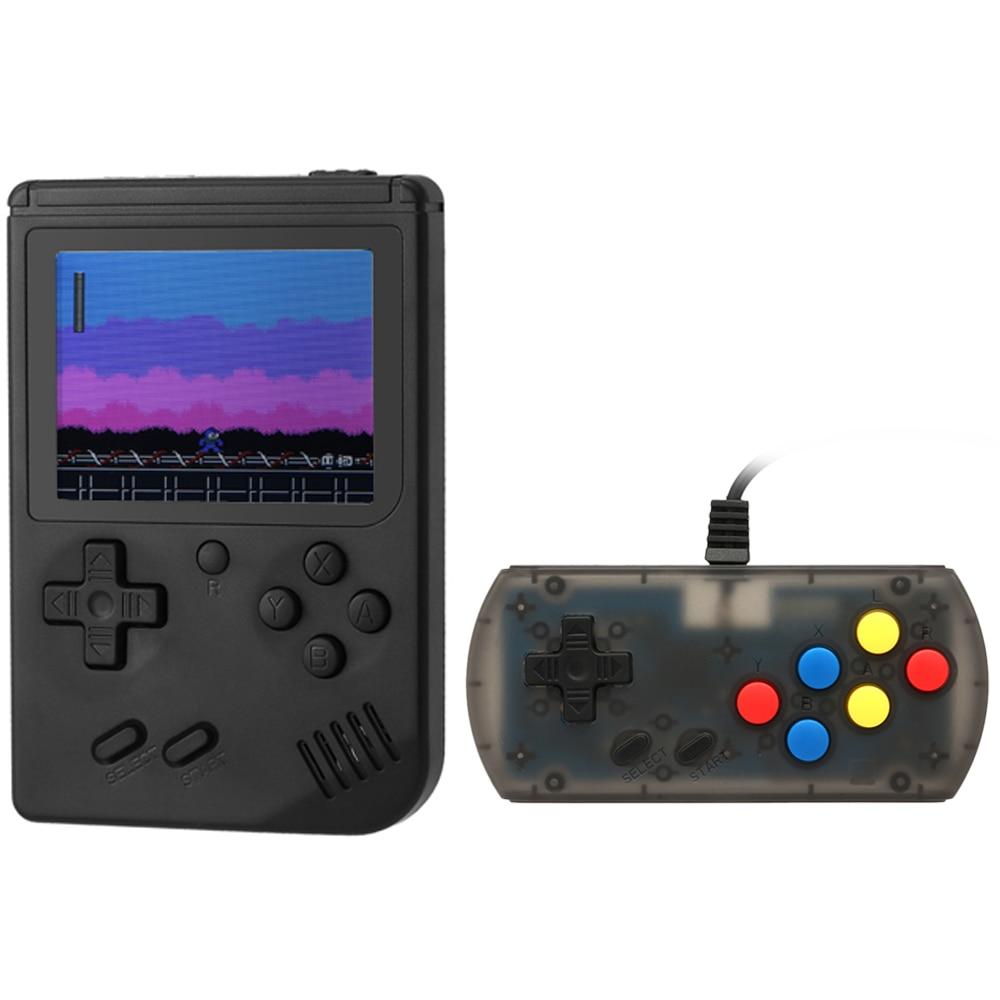 Videospielkonsolen Unterhaltungselektronik GüNstiger Verkauf Retro Handheld Spielkonsole Tragbare Spiel Maschine Eingebaute 168 Spiele Mit Wired Gamepad Spiel-player Beste Kind Geschenk Clear-Cut-Textur