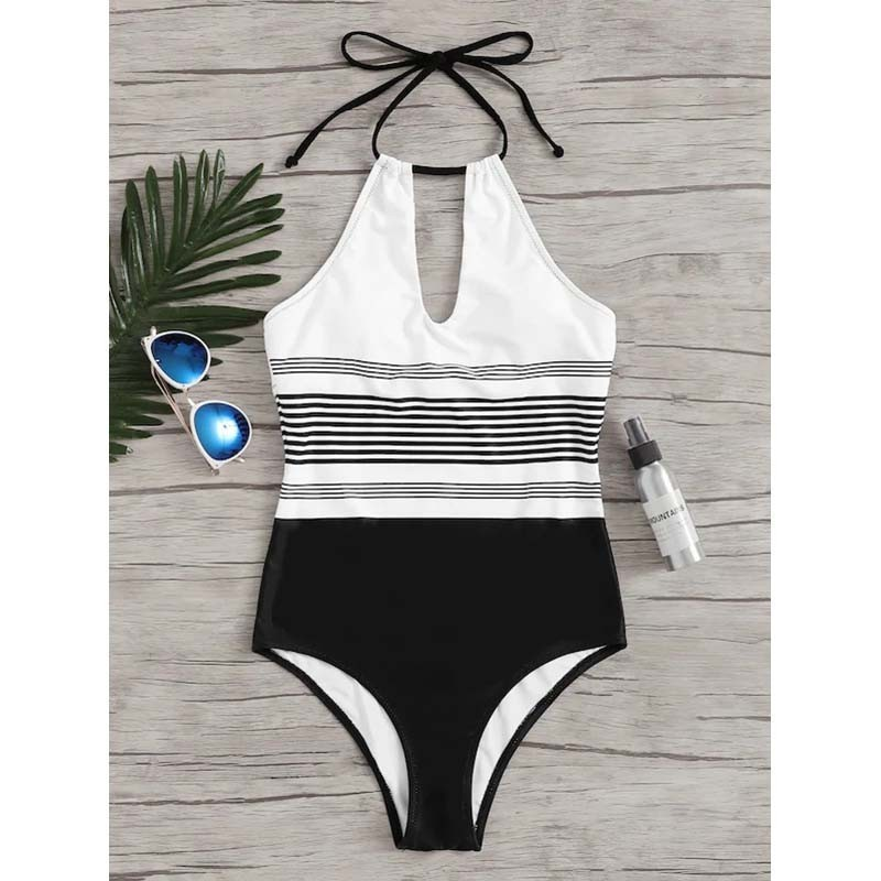 One-Piece Swimsuit Closed Fused Women Bather Beach Female Push Up Swimwear For The Pool Body Bathing Suit Sports Swimming Suit 3