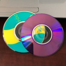 Оптовая продажа, 50 шт., мини-диски 8 см, 1,4 гб, класс а с фруктами, 8x DVD R