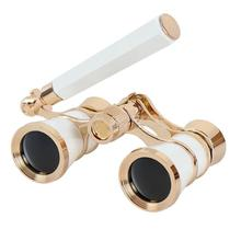 Telescope Folding Opera Glasses Theater Vintage Binoculars With Retractable Handle Night Vesion For Camping Horse Riding Tools