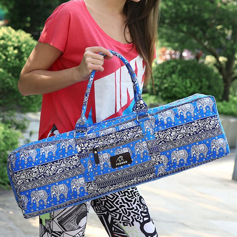 2018 Hot Sell Men And Women Yoga Bag Fitness Multi-functional Waterproof Sports Canvas Bag Large Capacity Yoga Mat Special Bag