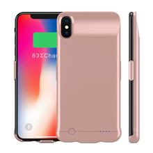 For iPhone Xs Max Case Battery Charger Case 6200mAh External Backup Charger Power Bank Protective Cover For iPhone Xs Max Funda