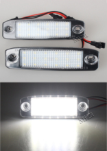 2Pcs LED Car Number License plate light for Kia Sportage 2011~ For SONATA 10 10~13 YF 10MY 2010~2013 GF