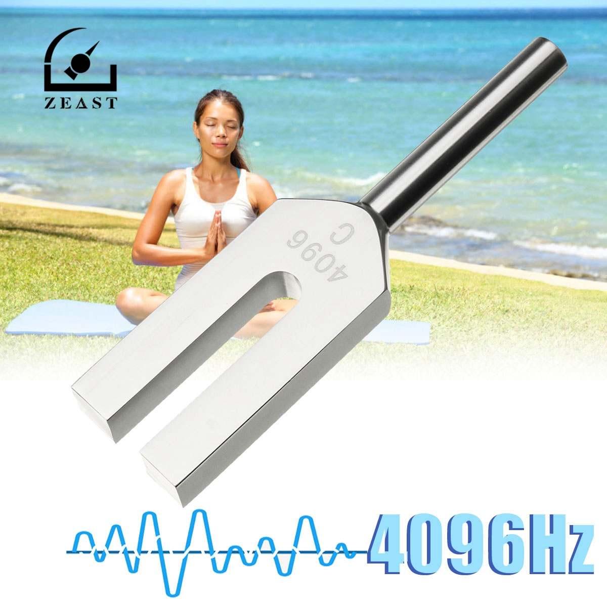 Angemessen Zeast 4096hz Aluminium Musical Tuning Gabel Instrument Für Healing Sound Vibration Therapie Medizinische Werkzeuge