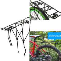 Bicycle Rear Carrier Iron/Aluminum Alloy MTB Bicycle Luggage Carriers Cargo Rear Rack Bike luggage seat post Pannier Carrier