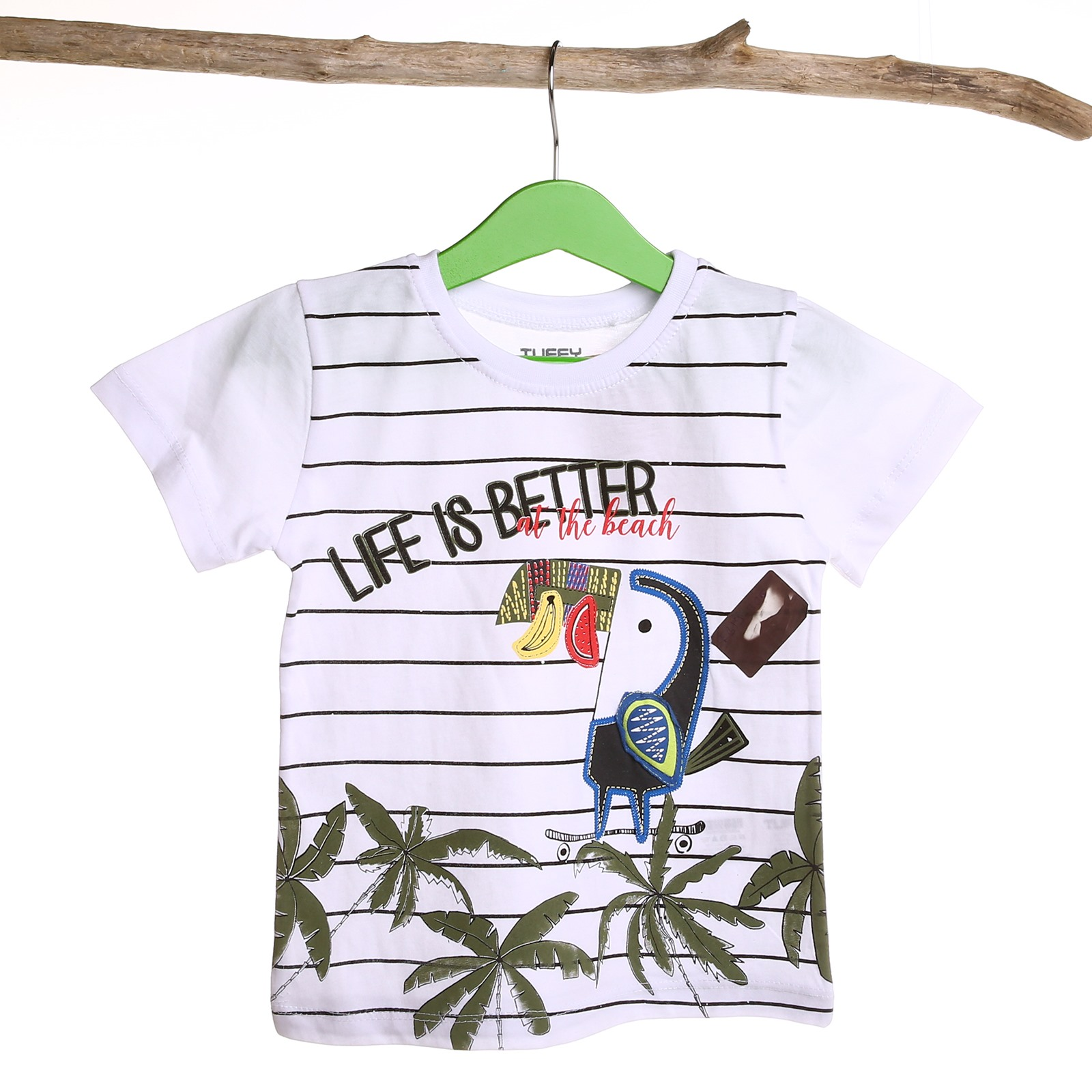 Tuffy Life Is Better Baby Short Sleeve T-shirt