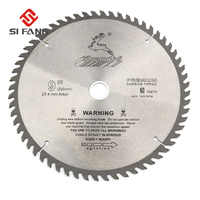 SI FANG 60-100Teeth 4-12 Zoll Hartmetall Legierung Hohe Qualität Kreissäge Klinge Dreh Werkzeug Verwendet Für Schneiden Holz und Aluminium Metall
