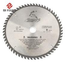 SI FANG 60 100Teeth 4 12 inç karbür alaşım yüksek kaliteli daire testere bıçağı döner aracı ahşap kesme için kullanılan ve alüminyum Metal