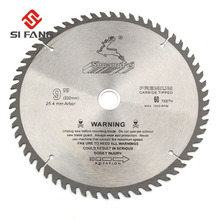 SI FANG 60 100Teeth 4 12Inch Carbide Alloy High Quality Circular Saw Blade Rotary Tool  Used For Cutting Wood and Aluminum Metal