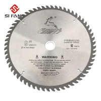 Si fang 60-100teeth 4-12 Polegada liga de carboneto de alta qualidade circular lâmina de serra ferramenta rotativa usada para cortar madeira e metal de alumínio