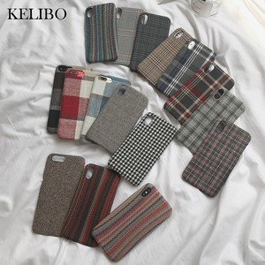 Cloth Texture Soft TPU case Fo