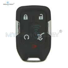 цена на Remtekey Replacement smart car key shell case for 2015 Chevrolet Suburban Tahoe HYQ1EA 4+1 button
