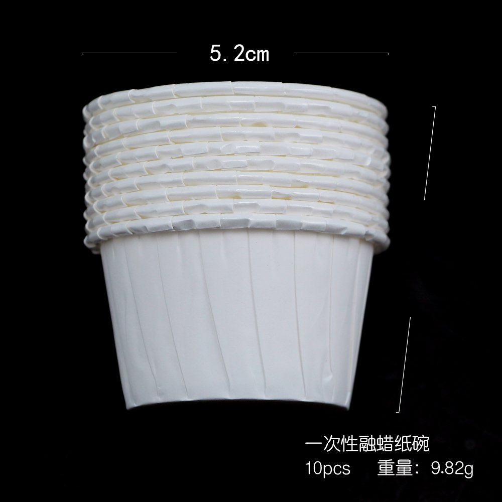 Bluezoo Multifunktionale Haushalt Leichte Mini Größe Einweg Pappbecher Für Haar Entfernung Wachs Bean Enthaarung Halter
